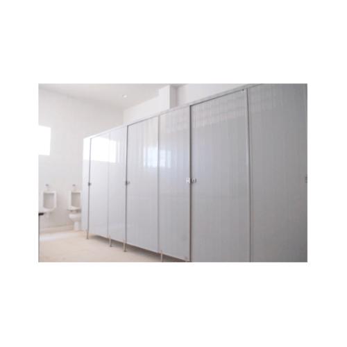 BATHIC ผนังห้องน้ำพีวีซี แผงพาร์ทิชั่น 30x125 cm. สีครีม  BATHIC PT สีครีม