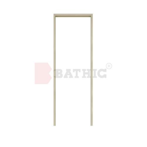 BATHIC วงกบ PVC 100x200 cm.  F  สีครีม