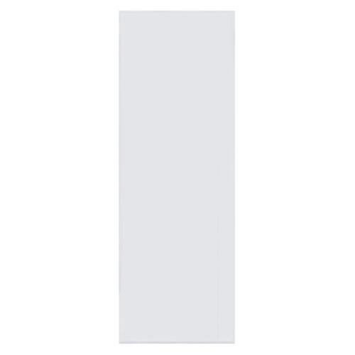 BATHIC ประตูพีวีซี  ขนาด 60x180 ซม.  (เจาะ) BC1 สีขาว