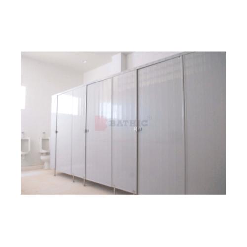 BATHIC ผนังห้องน้ำพีวีซี แผงพาร์ทิชั่น 30x115 cm. สีเทา BATHIC PT สีเทา