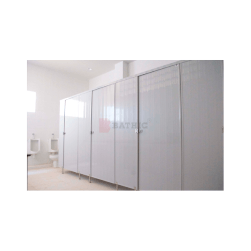 BATHIC ผนังห้องน้ำพีวีซี แผงพาร์ทิชั่น 10x115 cm. สีเทา BATHIC PT สีเทา