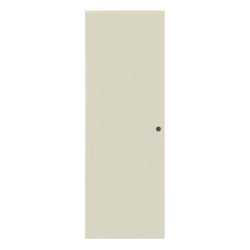 BATHIC  ประตูพีวีซี บานทึบเรียบ ขนาด  89.5x202.5ซม.  (เจาะ) BC1 สีครีม