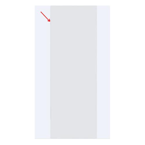 BATHIC ขอบประตูพีวีซีเคลือบ   ขนาด 10x200ซม.  สีขาว