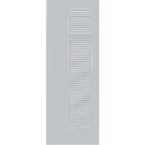 BATHIC ประตูพีวีซี  ขนาด 90x180 ซม. ไม่เจาะรูลูกบิด BC5 สีเทา