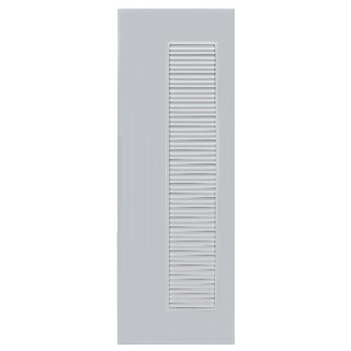 BATHIC ประตูพีวีซี  ขนาด 60x180 ซม.  ไม่เจาะรูลูกบิด BC5 สีเทา