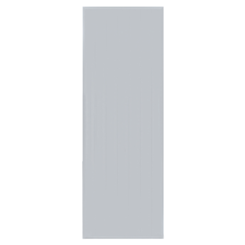 BATHIC  ประตูพีวีซี บานทึบ ขนาด 70x173ซม.  (ไม่เจาะ) BC1 สีเทา