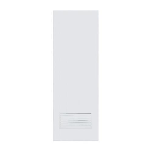 BATHIC  ประตูพีวีซี เกล็ดล่างขนาด 100x200ซม. (ไม่เจาะ) BC2 สีขาว
