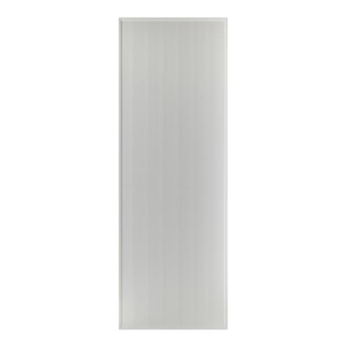 BATHIC ประตูพีวีซี บานทึบเรียบ ขนาด  60x176ซม.  (ไม่เจาะ) BS1 สีเทา