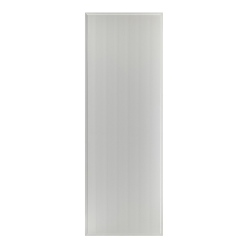 BATHIC  ประตูพีวีซี บานทึบเรียบขนาด 100x180ซม.  (ไม่เจาะ) BS1 สีเทา