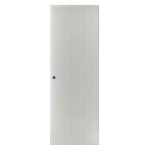 BATHIC  ประตูพีวีซี บานทึบ ขนาด 78.5x200ซม. (เจาะ) BS1 สีเทา