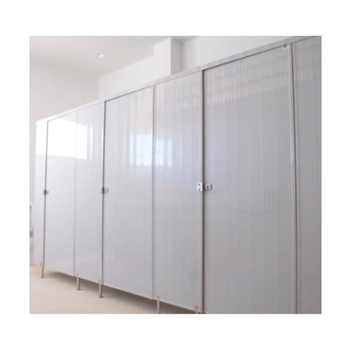 BATHIC  ผนังห้องน้ำพีวีซี แผงพาร์ทิชั่น ขนาด 130x200ซม.  PT สีขาว