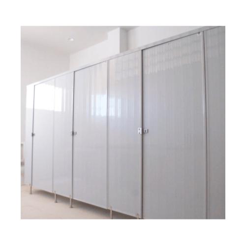 BATHIC ผนังห้องน้ำพีวีซี แผงพาร์ทิชั่น ขนาด 40x200ซม. PT สีขาว