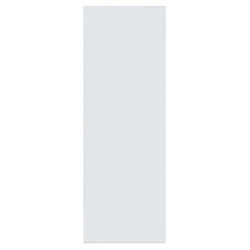 BATHIC  ประตูพีวีซี บานทึบเรียบ ขนาด  60x200ซม.  (ไม่เจาะ) BC1 สีขาว
