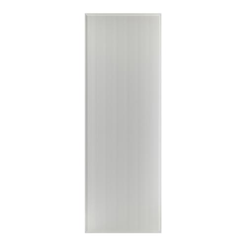 BATHIC  ประตูพีวีซี บานทึบเรียบขนาด  80x120ซม.  (ไม่เจาะ) BS1 สีเทา