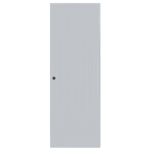 BATHIC  ประตูพีวีซี บานทึบ  ขนาด 59x177ซม.  (เจาะ) BC1 สีเทา