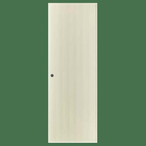 BATHIC ประตูพีวีซี ขนาด 80x170 ซม. (เจาะรูลูกบิด) สีครีม