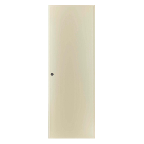 BATHIC ประตู PVC ขนาด 70x200 ซม. เจาะ BP1 สีครีม