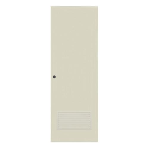 BATHIC ประตูพีวีซี ขนาด 70x180 ซม.  BC2 สีครีม