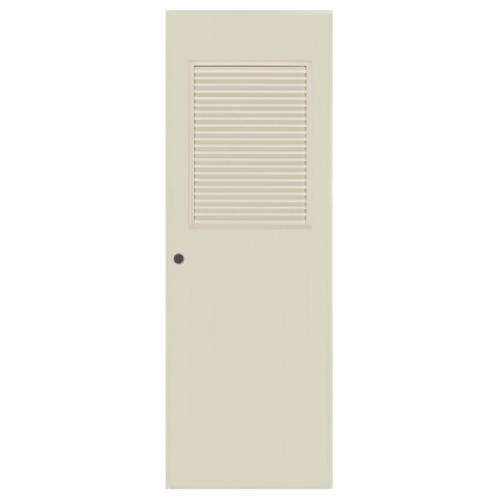 BATHIC ประตู PVC ขนาด 70x200 ซม. BC3 สีครีม