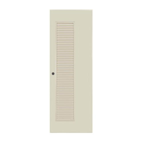 BATHIC ประตูขนาด 80x200 CM. BC5 สีครีม
