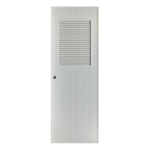 BATHIC ประตู PVC 80x200 cm. BS3 สีเทา