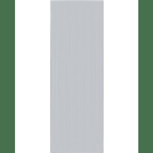 BATHIC ประตูพีวีซี ขนาด 80x170ซม.  BC1 (ไม่เจาะรูลูกบิด) สีเทา