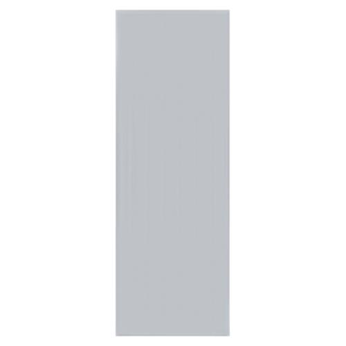 BATHIC ประตูพีวีซี ขนาด 70x180 ซม. ไม่เจาะ BC1 สีเทา