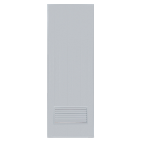 BATHIC ประตู ขนาด  70x200 ซม.  ไม่เจาะ BC2 สีเทา