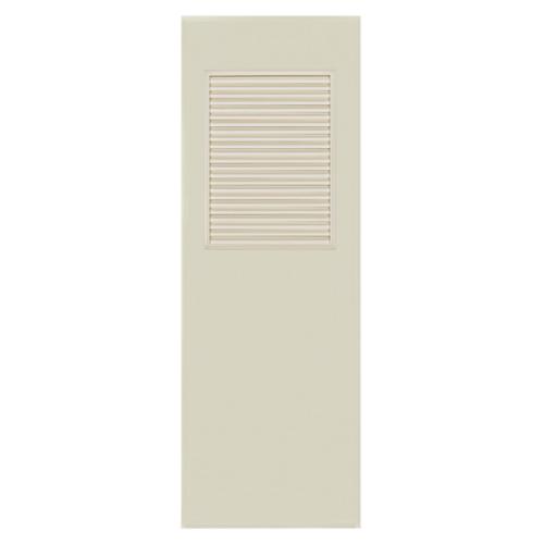 BATHIC ประตูพีวีซี  ขนาด 80x180 ซม.  ไม่เจาะ BC3 สีครีม