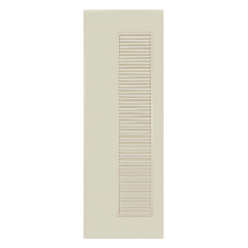BATHIC ประตูพีวีซี ขนาด 70x200 ซม. ไม่เจาะ BC5 สีครีม