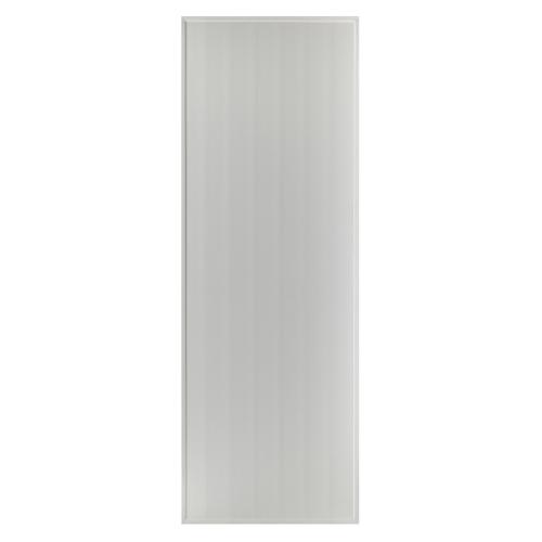 BATHTIC ประตูพีวีซี  ขนาด 80x180 ซม. ไม่เจาะ  BS1 สีเทา