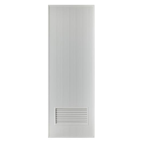 BATHIC ประตูพีวีซีบาธติค ขนาด 80x200 ซม. BS2 สีเทา