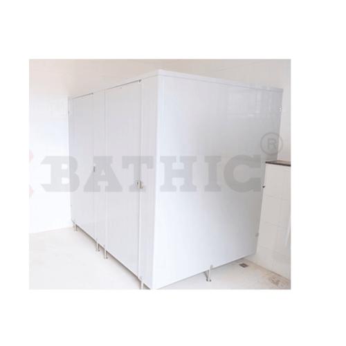BATHIC บานพาร์ติชั่น 20x120 สีเทา PT สีเทา