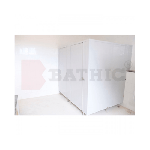 BATHIC บานพาร์ติชั่น 10x170 สีครีม PT สีครีม