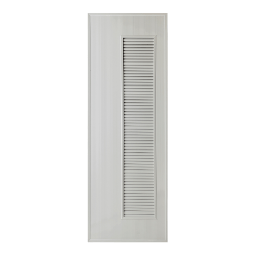 BATHIC ประตูพีวีซี  ขนาด 60x180 ซม. (ไม่เจาะ)  BS5 สีเทา