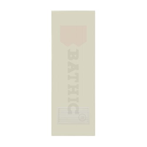 BATHIC ประตูพีวีซี ขนาด 90x200 ซม. (ไม่เจาะ)  BC2 สีครีม