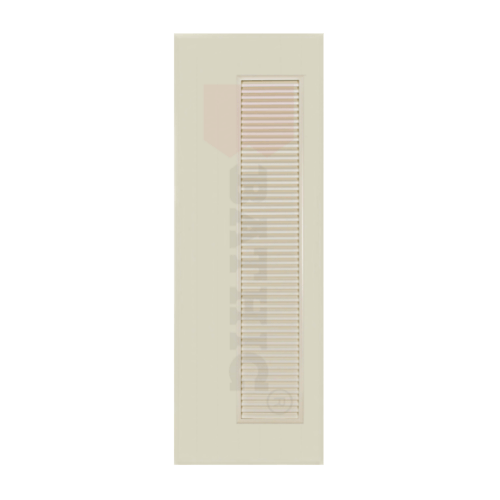 BATHIC ประตูพีวีซี 60x180 ซม.  (ไม่เจาะ)  BC5 สีครีม