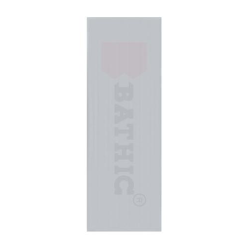 BATHIC ประตูพีวีซี ขนาด 60x170 ซม.  (ไม่เจาะ) BC1 สีเทา