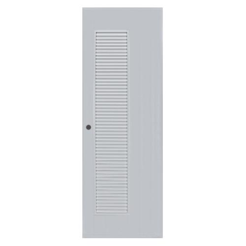 BATHIC ประตูพีวีซี  70x195 ซม.  (ไม่เจาะ)  BC5 สีครีม