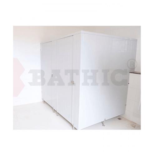 BATHIC ผนังห้องน้ำพีวีซี แผงพาร์ทิชั่น 50x170cm. สีเทา BATHIC PT สีเทา