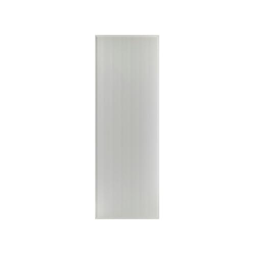 BATHIC ประตูพีวีซี บานทึบเรียบ 60x177ซม.  (ไม่เจาะ)  BS1 สีเทา
