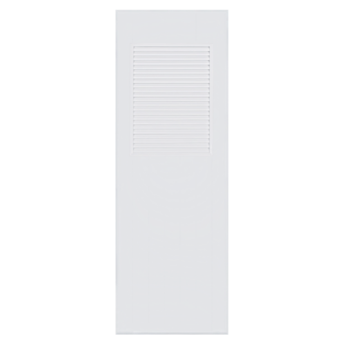 BATHIC ประตู PVC ขนาด 70x180 ซม. ไม่เจาะ  BC3 สีขาว
