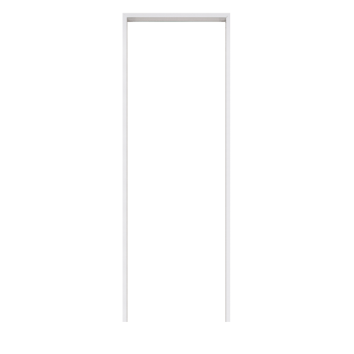 BATHIC วงกบ PVC ขนาด 80x200 ซม. - สีขาว