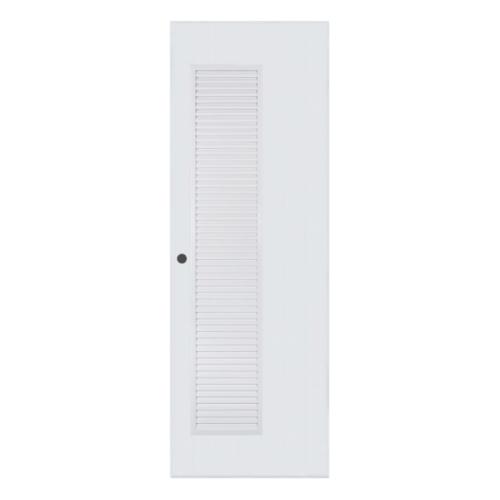 BATHIC ประตูพีวีซี  ขนาด 90x200 ซม. (เจาะ)  BC5 สีขาว
