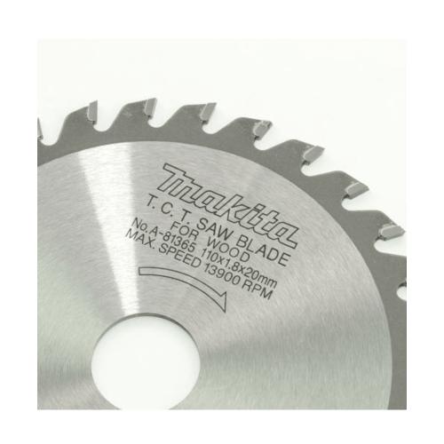 MAKITA แท้ ใบเลื่อยตัดไม้ 4 A-81365 สีเทาอ่อน