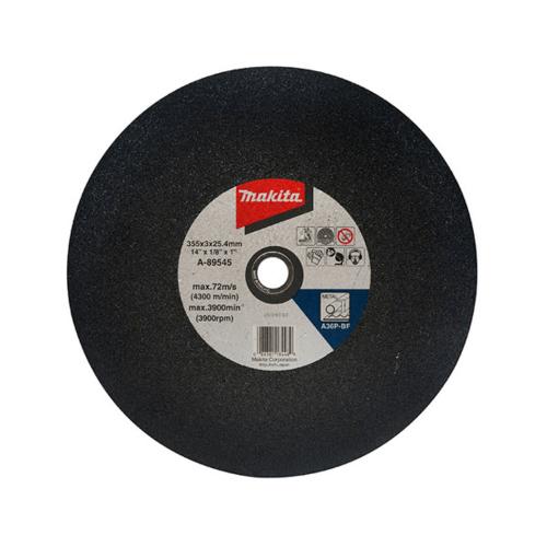 MAKITA แผ่นตัดเหล็กไฟเบอร์14 A-89545 สีดำ