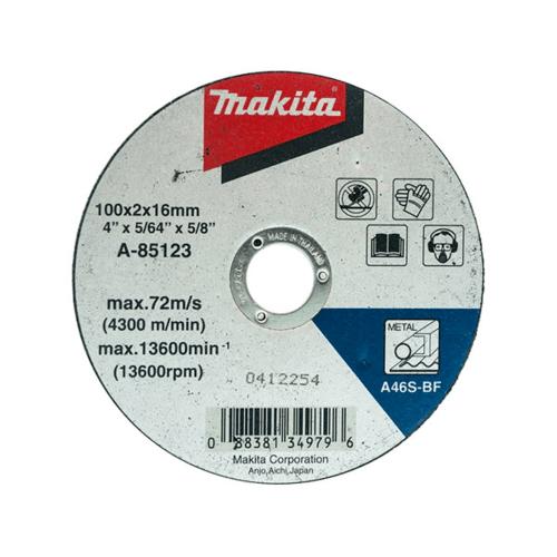 MAKITA   แผ่นตัดเหล็ก 4 MP003280 สีดำ
