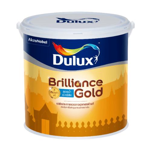 Dulux ดูลักซ์บริลเลียนซ์โกลด์ สูตรน้ำ  ขนาด 1G GW900