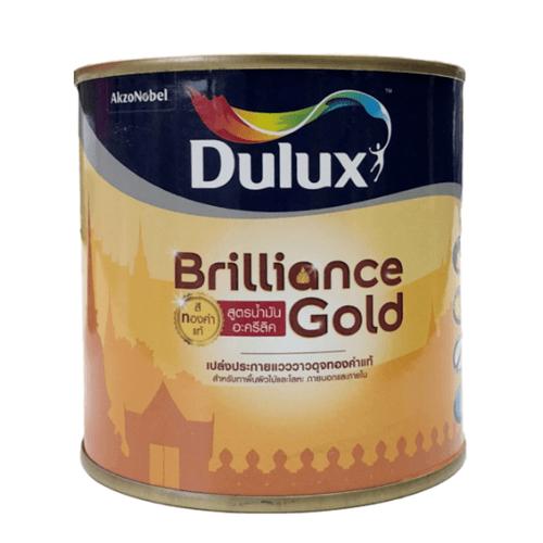 Dulux ดูลักซ์บริลเลียนซ์โกลด์ รองพื้นสูตรน้ำมัน GS910 ขนาด 0.236L DS BRILLIANCE GOLD (GS910)