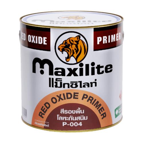Dulux สีรองพื้นกันสนิม MAX.RED  004 กล. MAXILITE